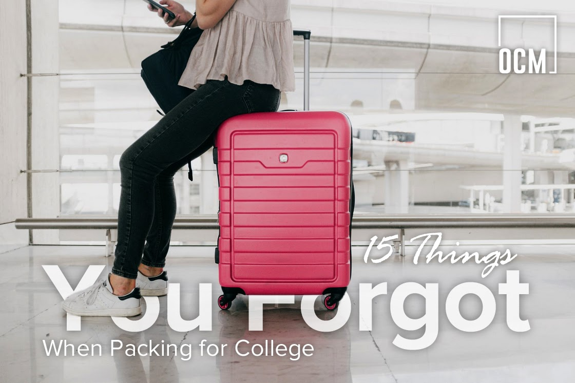 15 Things You Forgot When Packing for College