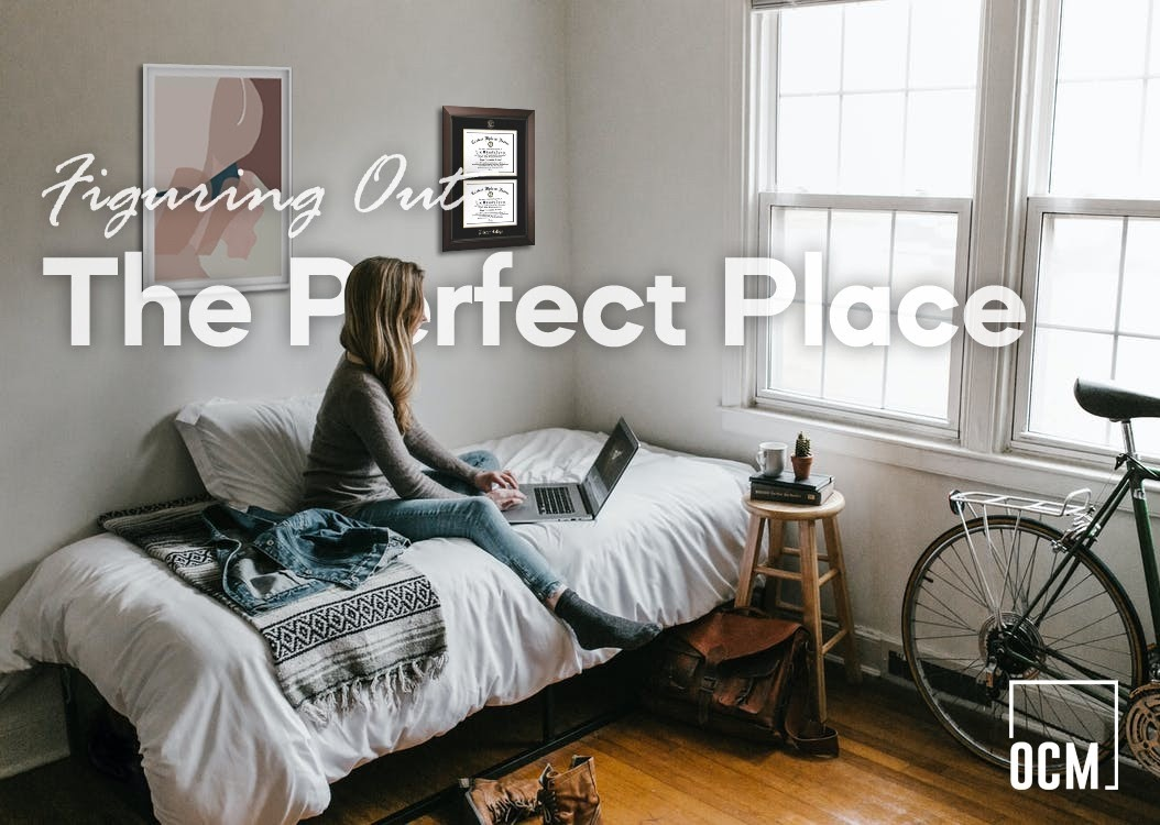 Woman sit on bed