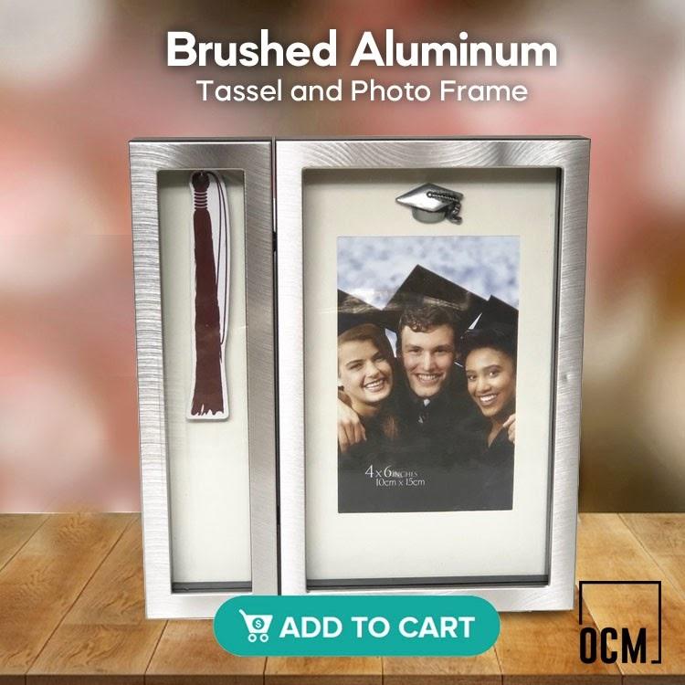 Brushed Aluminum Tassel