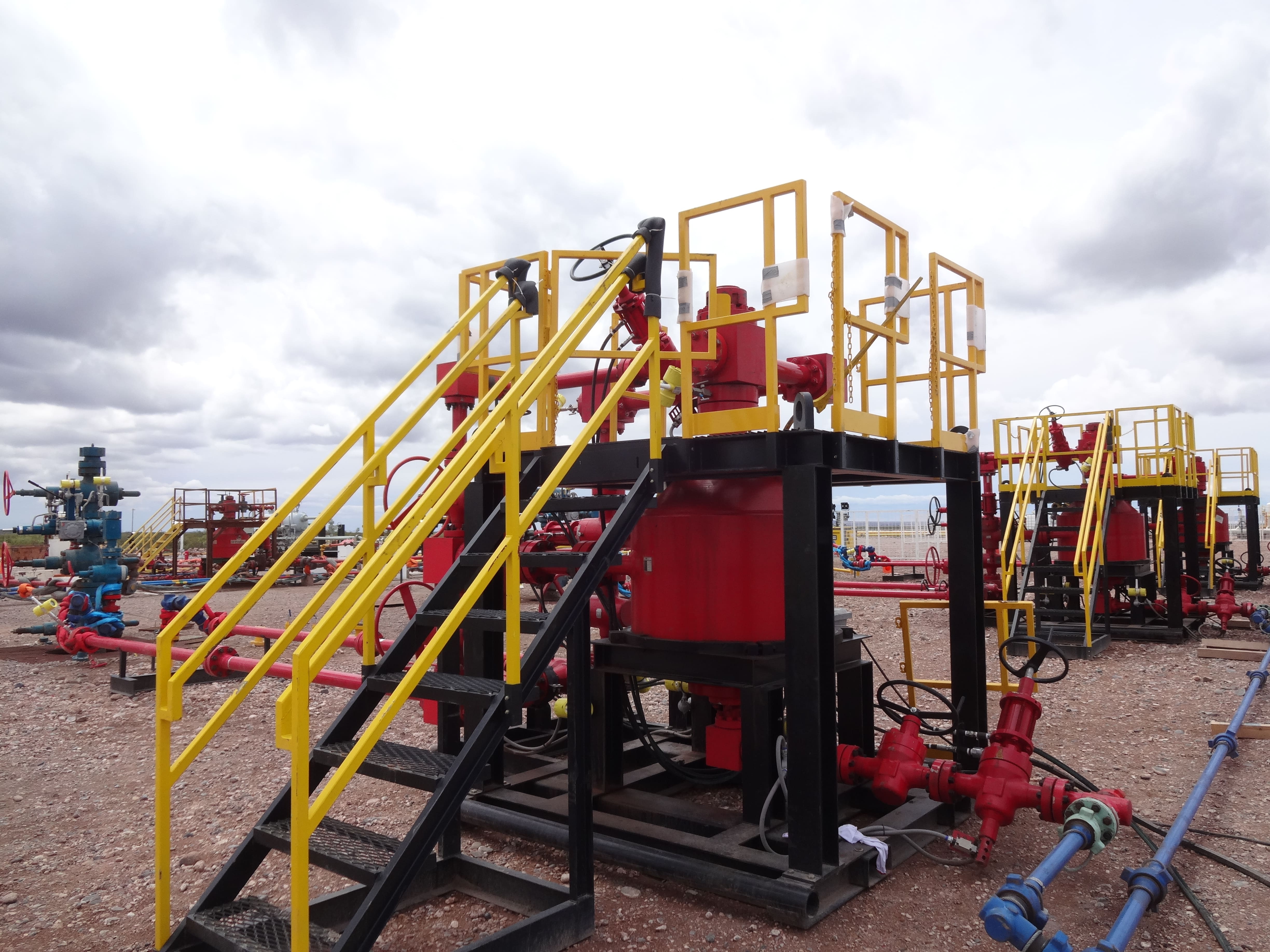 BBS Sand Separators Sand Filtration System in Texas