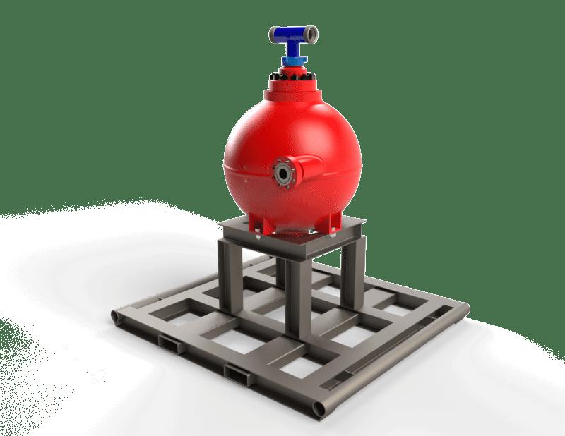 5K PSI VESSEL Sand Filtration System in Texas
