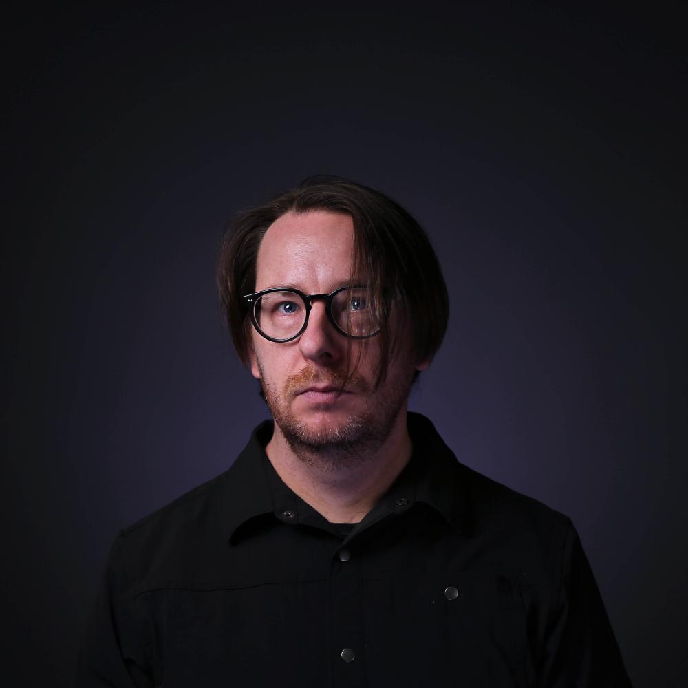 A portrait of the electronic music composer Nicolas Bernier.