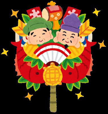 Ebisu and Daikokuten of Shichifukujin have fukumimi