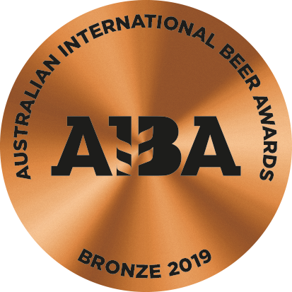 Bronze 2019 Australian International Beer Awards (AIBA)