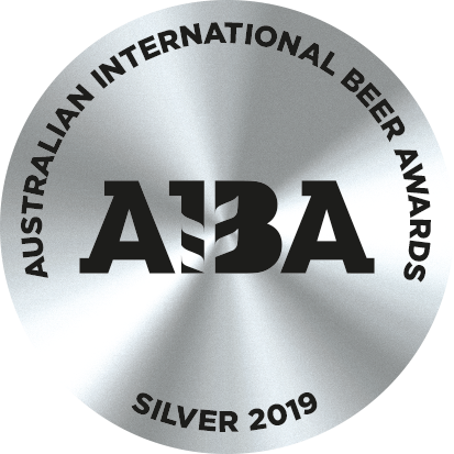 Silver 2019 Australian International Beer Award (AIBA)