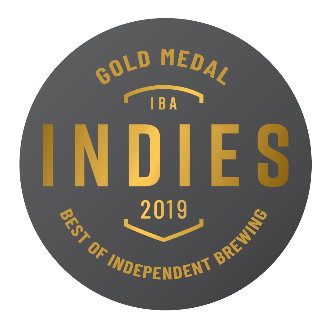 Gold 2019 Indies Independent Beer Awards Australia (IBA)