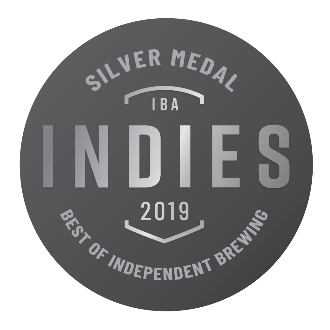 Silver 2019 Indies Independent Beer Awards Australia (IBA)