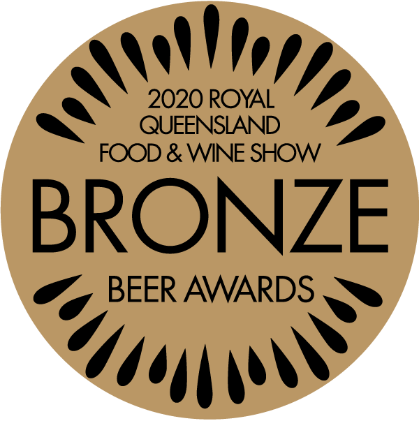 Bronze 2020 Royal Queensland Food & Wine Show Beer Award