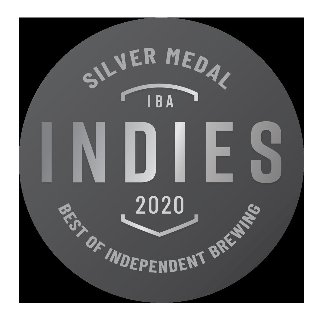 Silver 2020 Indies Independent Beer Awards Australia (IBA)
