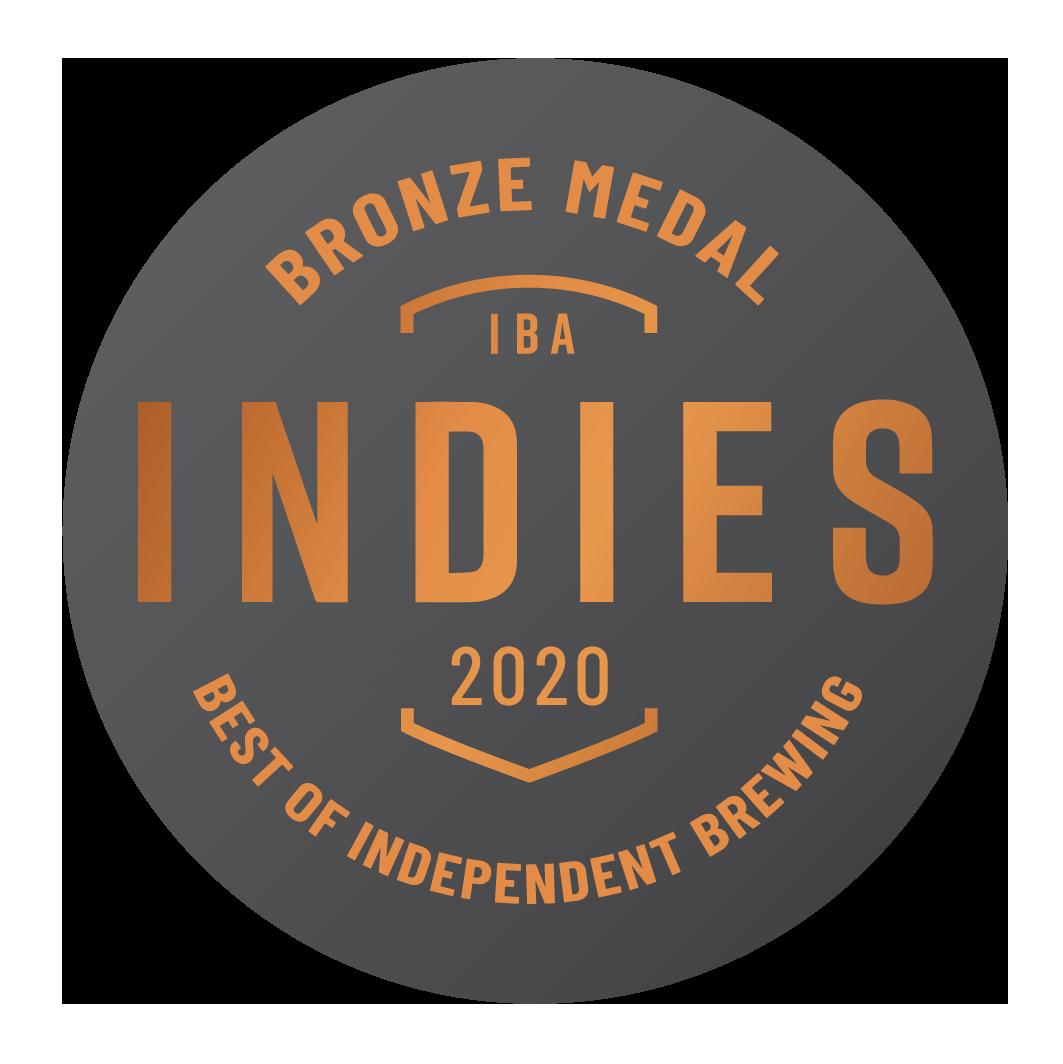 Bronze 2020 Indies Independent Beer Awards Australia (IBA)