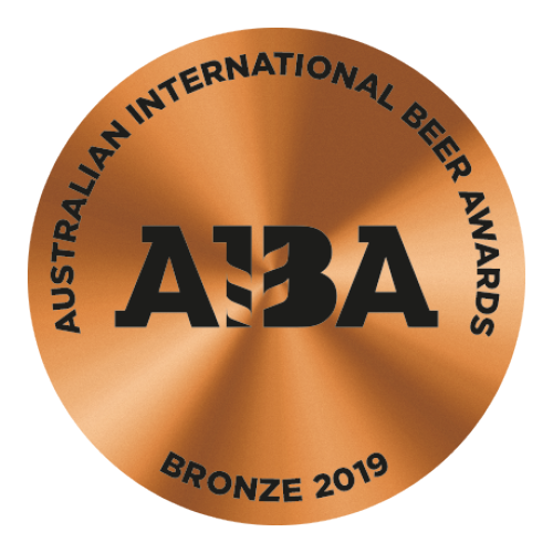 2019 Bronze Australian International Beer Awards (AIBA)