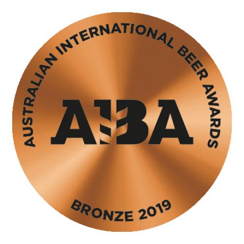 2019 Bronze Australian International Beer Awards (AIBA)