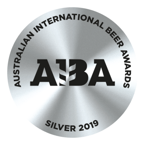 2019 Silver Australian International Beer Award (AIBA)