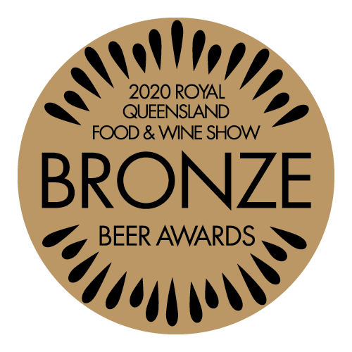 2020 Bronze Royal Queensland Food & Wine Show Beer Award