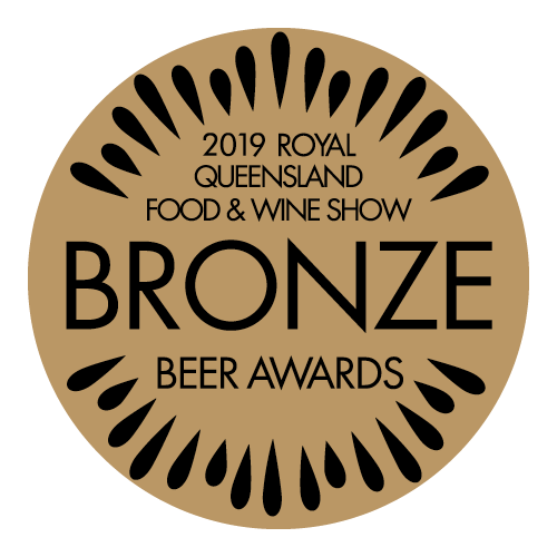 2019 Bronze Royal Queensland Food & Wine Show Beer Award