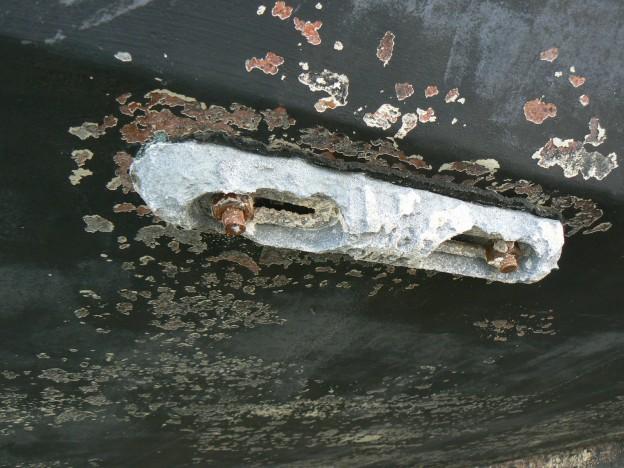zinc anode hull