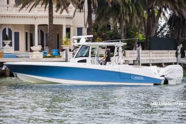 fishing boat rental miami