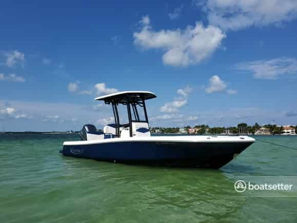 fishing boat rentals fl