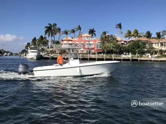 fishing boat rental photos