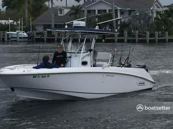 fishing boat rental florida