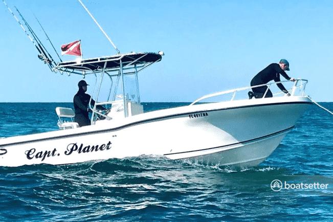 boat rentals Florida bay
