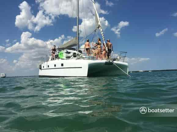 charter a boat for parties florida
