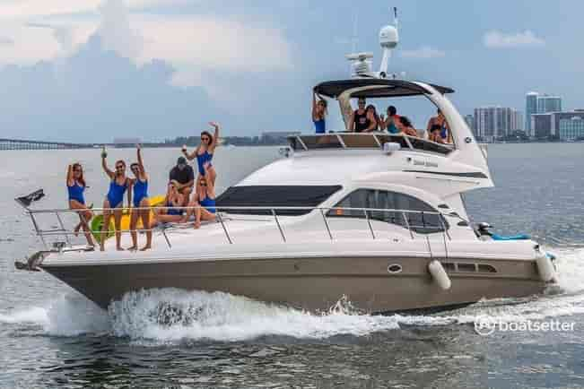 corporate private events on yachts miami beach
