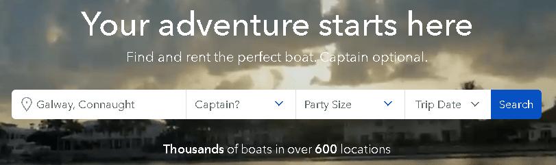 party boat rental near me
