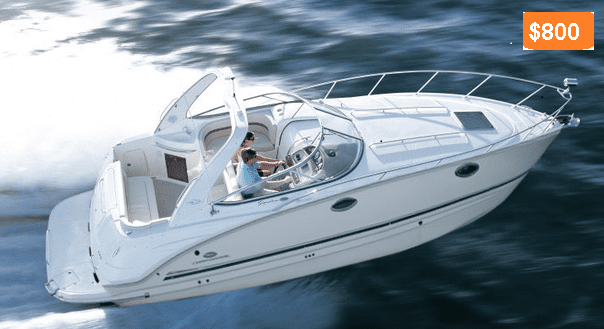 boating on the water costs