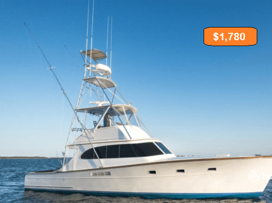 cost for boating in a day
