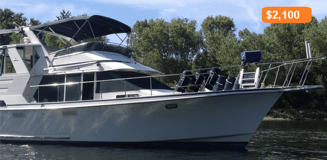 boating on the water lease prices