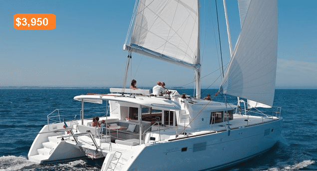renting a sailboat price
