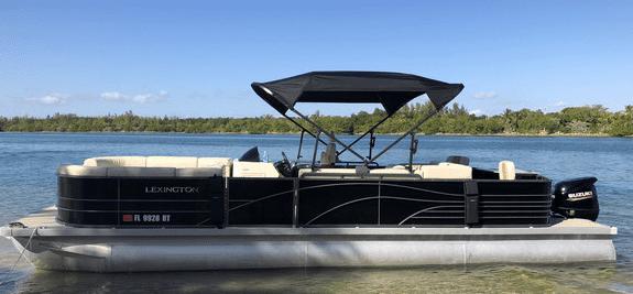 best pontoon boat rentals in miami