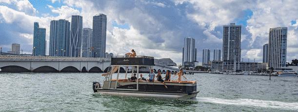 water boat rental miami