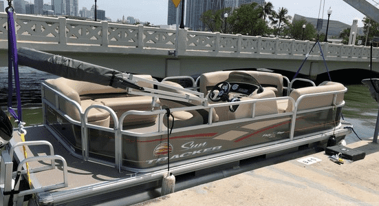 lease a pontoon boat miami