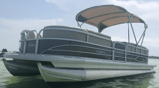 rent a pontoon boat in miami