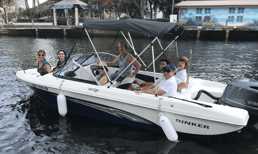hiring a boat in florida