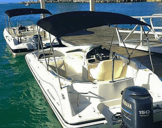 marco island florida pontoon charters