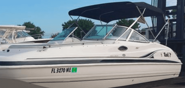 boating rentals near Naples