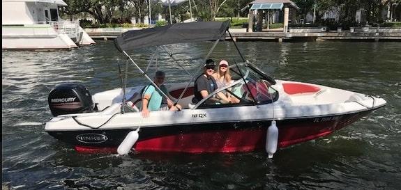 fishing boat vacation rental