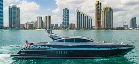 yacht party charter miami