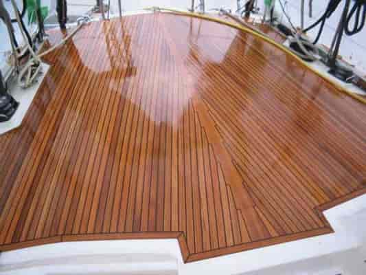 teak wood boat deck cleaner