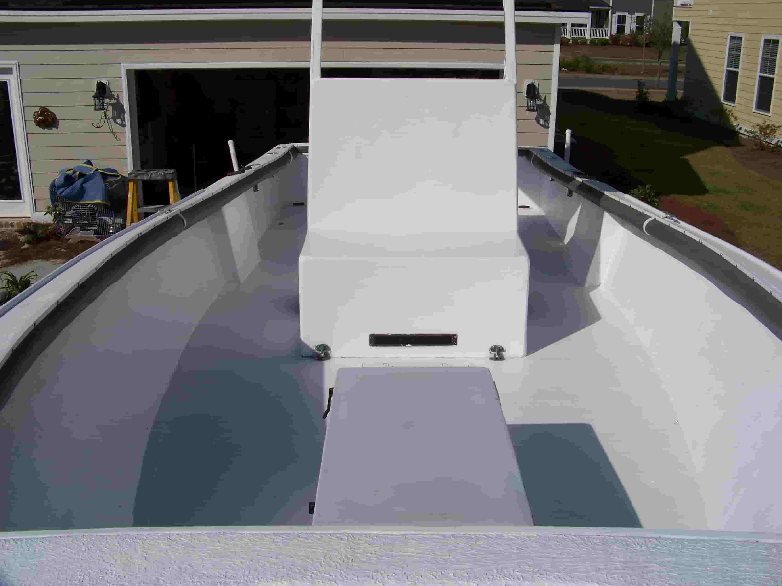 fiberglass boat deck cleaner