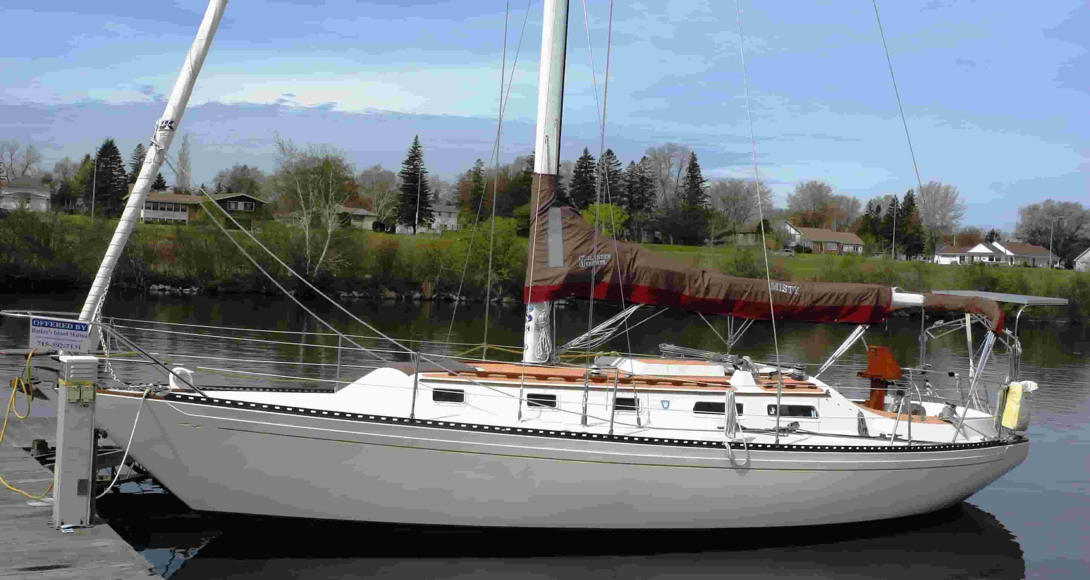 islander 36 sailboat