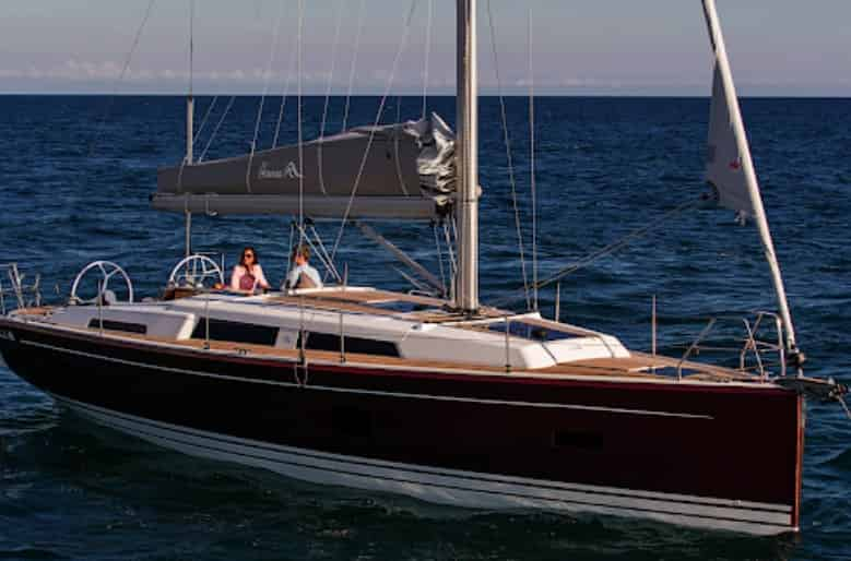 hanse 388 sailboat
