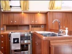 najad 355 kitchen