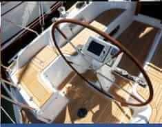 najad 355 steering system
