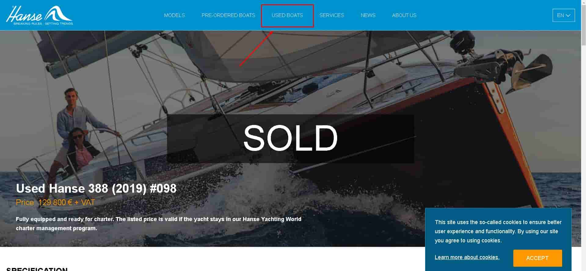 pricing a boat to sell