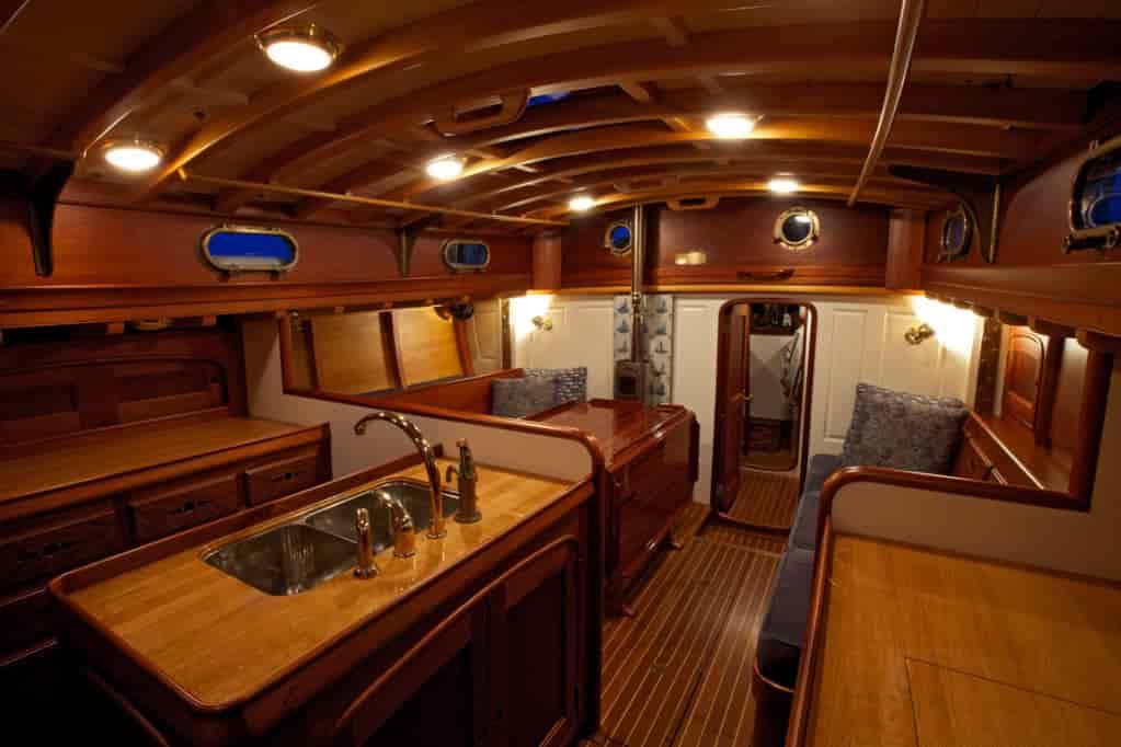 boat furniture interior upgrade