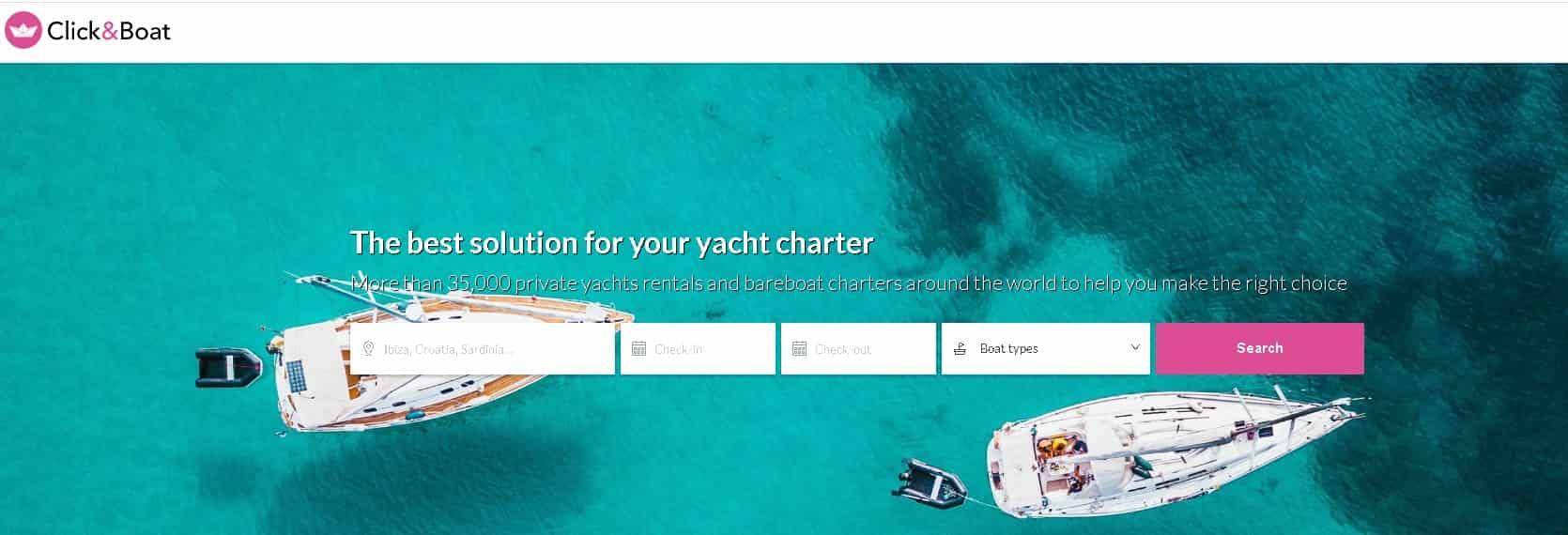 clickandboat rental